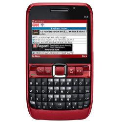 Original 2MP 2,36 pouces QWERTY Téléphone E63 Smart Téléphone mobile