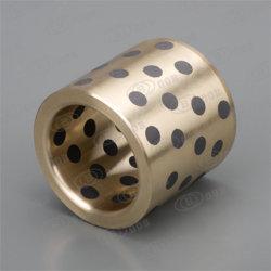 Peilungen für hydroturbine-Form-Bronze mit Graphitstecker-Pumpen-Buchse-Kippplastikeinspritzung-Maschinerie-Buchse