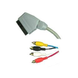 Péritel vers 4 câble audio RCA/câble péritel