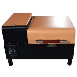 Il BBQ elettrico da tavolo facilmente montato cuoce la griglia alla griglia del BBQ del fumatore della pallina con 210 dentro. Zona di cottura quadrata