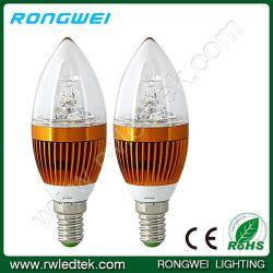 高いBrightness E14 3W Epistar LED Candle Light Bulbs