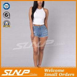 El desgaste de moda Dama Mujer Short Denim Jeans