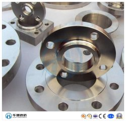 La norme ANSI/DIN/GB/JIS/ GOST/Bsw standard SS316/long cou de soudure en acier inoxydable de la bride Lwn bride forgés