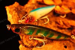A pesca de alto grau Lure--lápis afundar com 3D olhos (HMSE65-80-95-120)