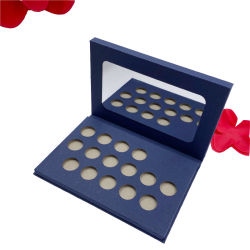 Специализированные печатные роскошь металлический блеск бумаги косметических упаковке с наружного зеркала заднего вида