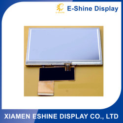 4.3 Zoll TFT LCD des nicht blauen Bildschirms der hohen Helligkeit 200mcd der TFT Auflösung 480X272 mit Touch Screen