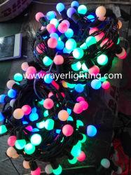 RGB LEDストリングLightlの可変性の自動フラッシュ球の花飾りの照明