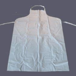 Jetable imperméable en PVC blanc Tablier de Cuisine