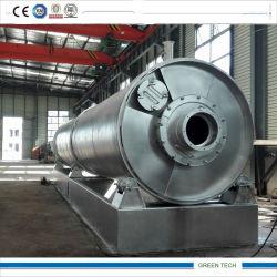 máquina de reciclagem de Pneus Reciclagem Energética a pirólise pneu usado ao Óleo