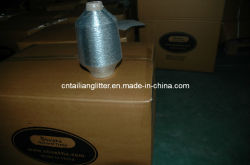 Silbernes X Type Yarn für Weaving