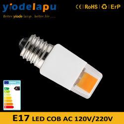 Loiça 2W E17 Edison COB as lâmpadas de LED