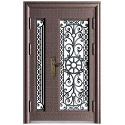 Современные 10см нестандартные изделия продажи наружной стальная передняя дверь