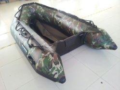 Camouflage Schlauchboot (2,7 m Aluminiumboden)