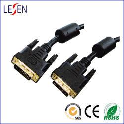 Câble DVI vers DVI, Gold-Plated 24k