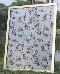 Glitter Frost pelures de film de verre E Film de fenêtre en verre dépoli Fenêtre Salle de stickers de décoration extérieure de film