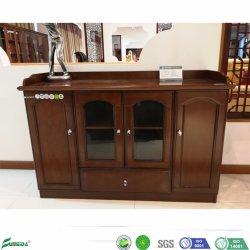 Mobiliário de escritório 4 Portas folheado de madeira armário de Escritório (C01)