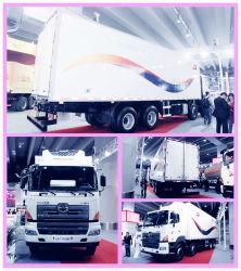 아이스크림 헤비듀티 8X4 35cbm 고기와 생선 냉장고 운송 트럭