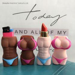 섹시한 아프리카 재미 점화기 고정되는 립스틱 고정되는 선전용 선물