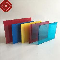 Feuille de polycarbonate solide feuille de toiture en polycarbonate panneau en polycarbonate de matériaux de construction
