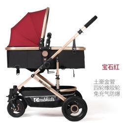 Korbwiege-Baby-SpaziergängerReversible alles Gelände - Cynebaby Vista Stadt-auserwählte Spaziergänger für den Säuglingskleinkindpram-Kinderwagen Mehrfarben