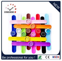 La promotion du sport bracelet en silicone de caoutchouc gifle Fashion Watch Merry christmass cadeau (DC-104)
