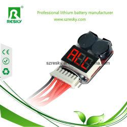 Indicatore del cicalino dell'allarme 1s-8s di bassa tensione della batteria di RC Lipo