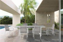 Hotel-Garten-Patio-Gaststätte-Esszimmer-Möbel-Luxuxstuhl-Tisch-Set