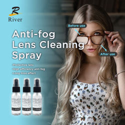 30ml lunettes Anti-Fog Antifog Spray pour des lunettes de protection de nettoyage des lentilles nettoyeur de lentille de pulvérisation