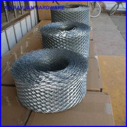 Por imersão a quente Galvanzied Malha da bobina de tijolos de metal expandido