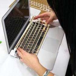 software su ordinazione della pelle del computer portatile 3D per ciao la pelle del computer portatile del gattino