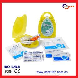 Mini kit de primeros auxilios del plástico para el regalo médico promocional