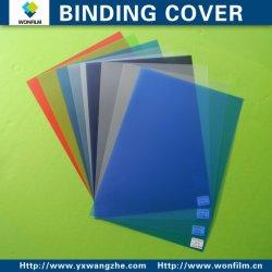 A4 210*297 Cubiertas de encuadernación de PVC transparente de 250 mic