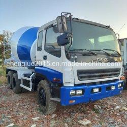 Verschijning 9cbm van Nice de Vrachtwagen van de Mixer van het Cement van Isuzu Cxz van de Vrachtwagen van de Mixer 6X4 voor Verkoop