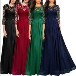 Noche vestidos de moda mujer mujeres dama elegante parte vestido largo vestido vestido de Bridesmaid Bridesmaid