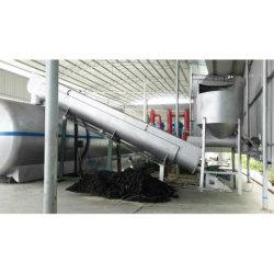 L'environnement Advanced usine de recyclage de pneus usagés à l'huile en caoutchouc