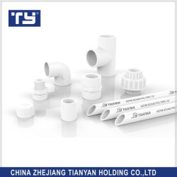 Ty Brands tutte le misure di ASTM Sch40 Standard PVC/acqua di plastica Raccordi/raccordi del tubo di mandata
