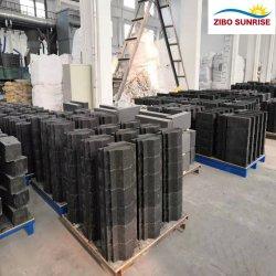 Mattone di carbonio della magnesia del rivestimento delle siviere dell'acciaio refrattario