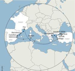 Доставка на Кипр и Египет и Израиль и Сирийская/Ливан и Турция и Греция из Гуанчжоу/Шэньчжэнь/Шанхай/Нинбо