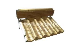 中国工場の古代の建物はアルミニウム / アルミニウム旧式の金属のタイルを使用した