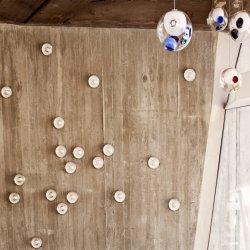Magic claro K9 de cristal de la burbuja de cristal LED Apliques de pared de luz Globo romántico Gota de agua G4 lámparas de pared de bola de luz delantera espejo