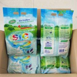 Fabricante profesional de detergente doméstico jabón en polvo para lavar el polvo