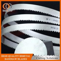 Bimetal M42 de alta calidad de la Sierra de la banda de metal de corte para blades