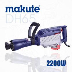 2200W 85mm Herramientas Eléctricas Taladro percutor de demolición (DH65).