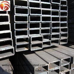ASTM A500 Grb 75X75 kalte gebildete Kohlenstoffstahl-Rohr-strukturelles hohles Kapitel-milde Frau Profile Square Steel Tube für Aufbau