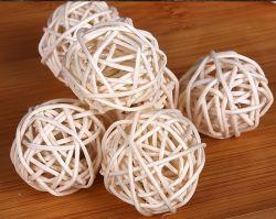 صنع وفقا لطلب الزّبون حارّ يبيع مواد صناعة يدويّة مزيج لون [رتّن] كرة