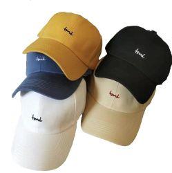 Cappelli di golf dei berretti da baseball di Wholeasle con il marchio su ordinazione