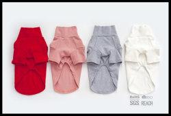 Nuevos géneros de punto de la ropa ocasional de la camisa del chaleco del algodón del perro de animal doméstico de la manera
