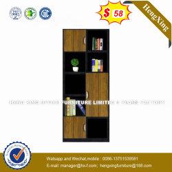 Meubles en bois 4 portes étagère de stockage de bibliothèque de bureau (HX-8N1633)