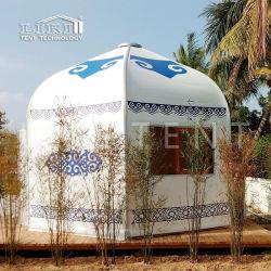 판매를 위한 전체적인 몽고 Yurt Glamping 설비 천막