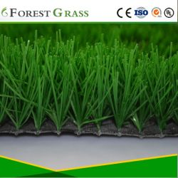 Champ de haute qualité de l'herbe au sol pour le football